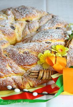 Velikonoční kynutý věnec French Toast, Rolls, Easter, Bread, Breakfast, Sweet, Blog, Morning Coffee, Candy