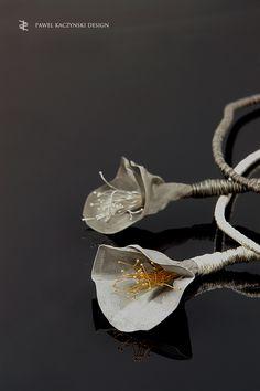 Necklaces - silver, stainless steel , gold - Pawel Kaczynski Jewellery