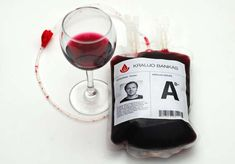 Bloody Wine Branding:  Beaujolais Nouveau AD Packaging Functions as Promotional Donations (by The Astos Dizainas McCann Erickson, Lithuania)
