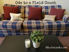 Ode to a Plaid Couch