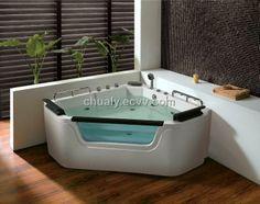 Deluxe high quality popular design whirlpool bathtub (BL-3305) - China massage bathtub, Baili