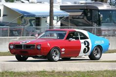 1968 Trans Am Javelin. When AMC was in racing you knew there was something special going on.