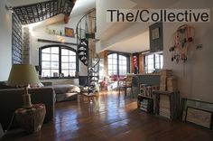 New York style loft in East London warehouse conversion close to Olympic Park