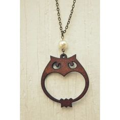 Items similar to wooden owl necklace. on Etsy Wooden Owl, Wooden Crafts, 3d Laser Printer, Home Decor Catalogs, Laser Cut Jewelry, Scroll Saw Patterns, Wood Earrings, Wooden Jewelry, Cheap Home Decor
