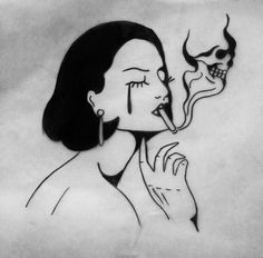 DeadFix She rides Tattoo Drawings, Body Art Tattoos, Art Drawings, Drawing Art, Dope Art, Future Tattoos, Aesthetic Art, Art Inspo, Art Sketches