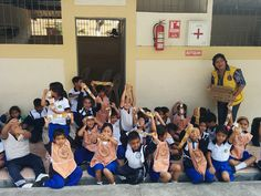 Gayaquil Bosques De La Costa Lions Club (Ecuador) | Lions Clean Washing Campaign showed 250 kindergarten student how to properly wash hands