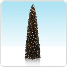 Bringin' Sexy Black Pencil Tree - our slim and classy tree that's a lot like the LBD