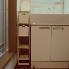洗面所/すきま収納/すのこ/スノコ/DIY/seria…などのインテリア実例 - 2015-03-02 20:38:25 | RoomClip(ルームクリップ)