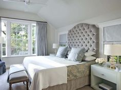 Inspired by Nature - Beautiful Bedrooms: 15 Shades of Gray on HGTV