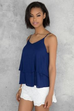 Rori Layered Tank from Francesca's $24.00