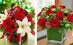 Veja 10 arranjos de rosas vermelhas para a mesa de Natal -