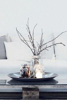 Zo simpel, maar erg mooi.. #decoratie #eenvoud