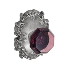Fusion V-18-C8-O Victorian Violet Style Privacy Door Knob Set with ($103) ❤ liked on Polyvore featuring home, home decor, antique pewter, knobset, privacy, rose home decor, door hardware, outdoor home decor, victorian home decor and spring home decor