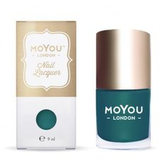 MoYou-London special nail Lacquer Midnight Green