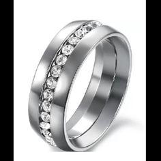 CZ.Men's Engagement Ring Wedding Band CZ.Men's Engagement Ring Wedding Band Sz.10,11,12 N/A Jewelry Rings