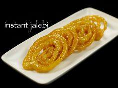 instant jalebi recipe, homemade crispy jalebi recipe or instant jilebi with step by step photo, video recipe. crispy, chewy jalebi - popular sweet in india
