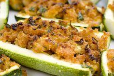 Stuffed Zucchini Boats by FoodMayhem