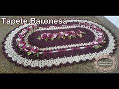"Tapete Baronesa ""Marcia Rezende - Arte em Crochê"" - 1/4 - YouTube"