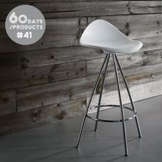 #41. Refined and timeless, the Onda Stool by Jesus Gasca for STUA, mimics the curves of the human body and in turn provides superb comfort. Suitable for indoor and outdoor use, the Onda Stool is available from our Short Lead Time product program