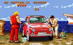 Worst. Bonus. Stage. Ever. #lols #video #game #Videogame #Gaming #References #Reality #Real #Life #Joke #Geek #Nerd #humor #Funny #Laugh #Logic #Gamer #Street #Fighter #Ryu #Ken #Bonus #Stage #Car #Meme #Simpsons