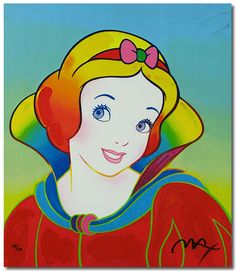 peter maxx | Peter Max Snow White Art
