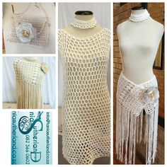 Beautiful cotton croquet gypsy infusion fashion items available, cream, grey & black Bridal Pants, Infinity Dress, Bridal Gowns, Gypsy, Boutique, Cream, Cotton, Fashion Design, Beautiful