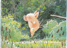 """""""Toot & Puddle"""" by Holly Hobbie ~~~ Best Loved Child: Design Inspiration Day - Piggies! Holly Hobbie, Sweet Pictures, Toot & Puddle, Pig Art, Arte Sketchbook, Little Pigs, Children's Book Illustration, Whimsical Art, Cute Art"""
