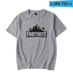 65d0d9132 Fortnite Inspired T-shirts for both Men and Women PS4 XBOX Games. Black And  White ShirtWhite ...