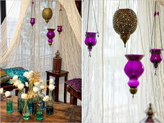bohemian wedding decor from wedding chicks. this is very me.
