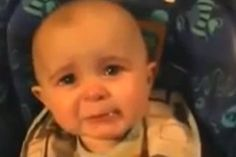"""Over the course of his career, Rod Stewart brought many women to tears with his song """"My Heart Can't Tell You No.""""  A mother of a 10-month-old baby had similar results as she sang it to her child.  Be uplifted by this heartwarming video that shines a spotlight on the beauty of the bond between a mother and her baby."""