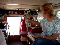 This woman is my hero! She converted her van herself, lives in it by herself, and LOVES it.