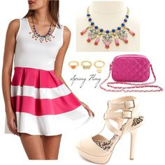 """Spring Fling Part Three"" by charlotterusse on Polyvore"