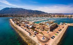Puerto deportivo de Denia Spain