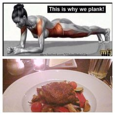 Restday - but i can't go to work without any plank and 50 squats 😉 A lady steak with vegetables for dinner 😊 Looking forward for BC day see you tomorrow guys . and ladies 😉 ✋ Going To Work, Plank, Squats, Steak, Canning, Sport, Dinner, Vegetables, Guys