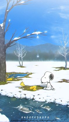 Snoopy, Woodstock and Friends Playing in the Snow Snoopy Comics, Bd Comics, Snoopy Und Woodstock, Snoopy Love, Snoopy Images, Snoopy Pictures, Peanuts Cartoon, Peanuts Snoopy, Peanuts Movie