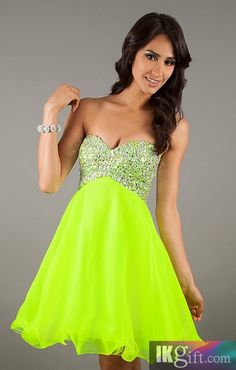 neon pink homecoming dresses - Google Search | Neon Homecoming ...