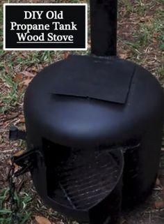 DIY Old Propane Tank Wood Stove
