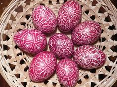Hungarian Embroidery Patterns Easter in Hungary: Traditions and events Chain Stitch Embroidery, Embroidery Patterns, Hand Embroidery, Butterfly Embroidery, Easter Egg Designs, Easter Ideas, Stitch Head, Braided Line, Hungarian Embroidery