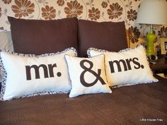 http://www.etsy.com/listing/73506746/mr-mrs-ruffled-wedding-pillow-case