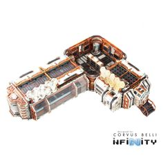 Infinity the Game terrain Cosmica Armory
