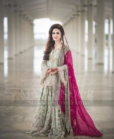 Buy Leading Designer Suits online perfect for Weddings and traditional occasions. Choose from our wide collection of Leading Designer Suits and ace the luxurious look at any party at affordable prices. Latest Bridal Dresses, Bridal Mehndi Dresses, Nikkah Dress, Shadi Dresses, Bridal Dress Design, Bridal Outfits, Bridal Dupatta, Asian Wedding Dress Pakistani, Pakistani Formal Dresses