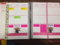How I Organize My Erin Condren Life Planner Project Planner, Erin Condren Life Planner, College Life, Organization Ideas, Fans, Notes, Writing, How To Plan, Craft