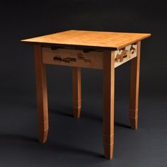 End Table by Dan Coors Woodworking and Design
