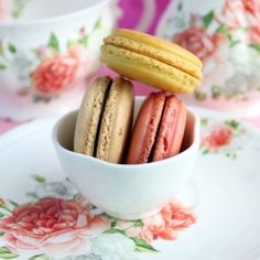 Tips and tricks for making perfect macaroons. With 3 easy flavors for you to make!