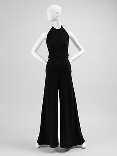 Claire McCardell outfit in wool. 1934. Gift of Claire McCardell, 1949. The Metropolitan Museum of Art online collection.