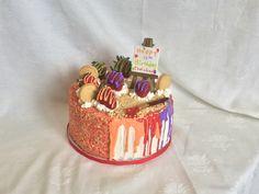 Strawberry Shortcake Art Theme Cake