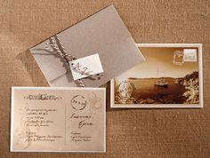 Προσκλητήρια γάμου | Biniatian Invitation Design, Bridal Shower, Place Cards, Wedding Invitations, Bouquet, Place Card Holders, Wedding Ideas, Weddings, Decor