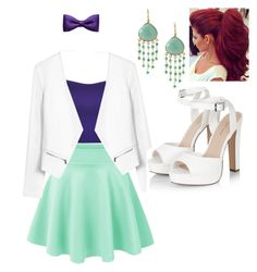 """Ariel"" by molu-1 on Polyvore featuring WearAll, Rebecca Taylor, Feather & Stone and ZuZu Kim"