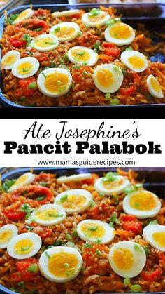 Filipino Dishes, Filipino Food, Filipino Recipes, Asian Recipes, Beef Recipes, Cooking Recipes, Noodle Recipes, Fish Recipes, Gourmet