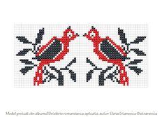 Posts about Broderia romaneasca aplicata written by Mihaela-Iuliana Dumitrescu Hand Embroidery Art, Cross Stitch Embroidery, Embroidery Patterns, Knitting Patterns, Cross Stitch Bird, Cross Stitching, Loom Beading, Pixel Art, Folk Art